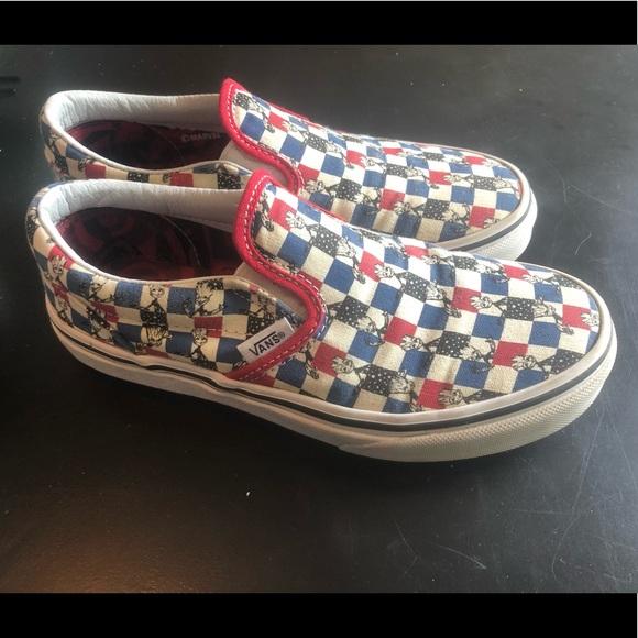 Vans x Marvel Slip On Groot Skate Shoes Zumiez X Marvel Slipon Large Skate Størrelse 3 Poshmark